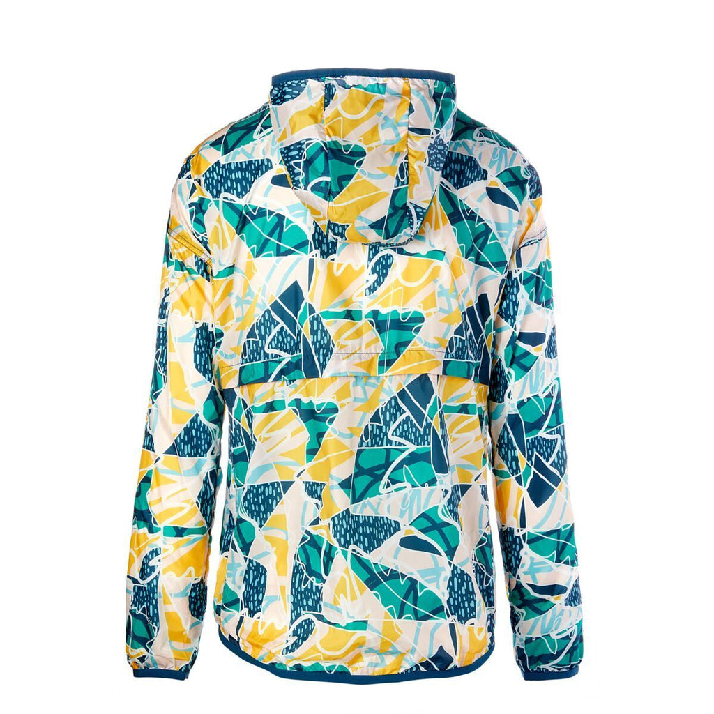 Teca Patterned Half-Zip Windbreaker - Unisex