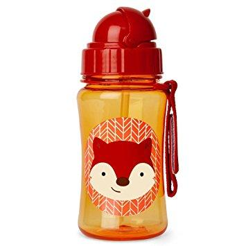 Zoo Straw Bottle - Fox by Skip Hop