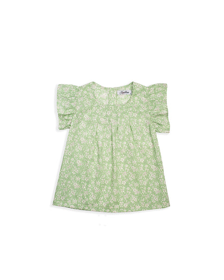 BUTTERFLY TOP GREEN