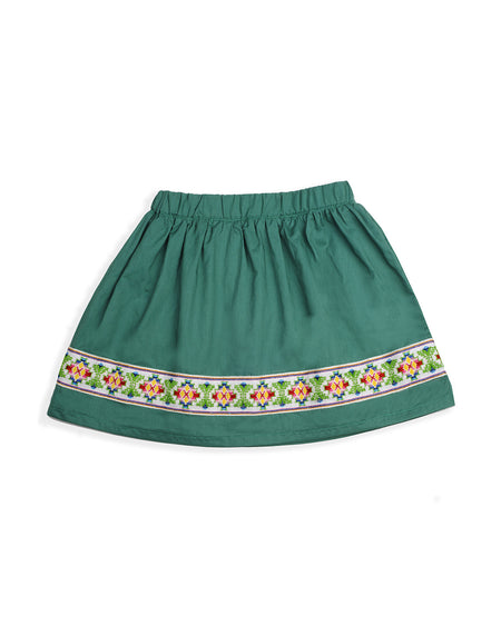 JEWEL SKIRT GREEN