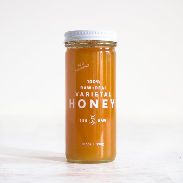 Maine Wild Raspberry Raw Honey
