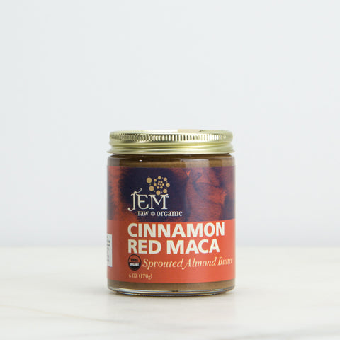 Cinnamon Red Maca Sprouted Almond Butter