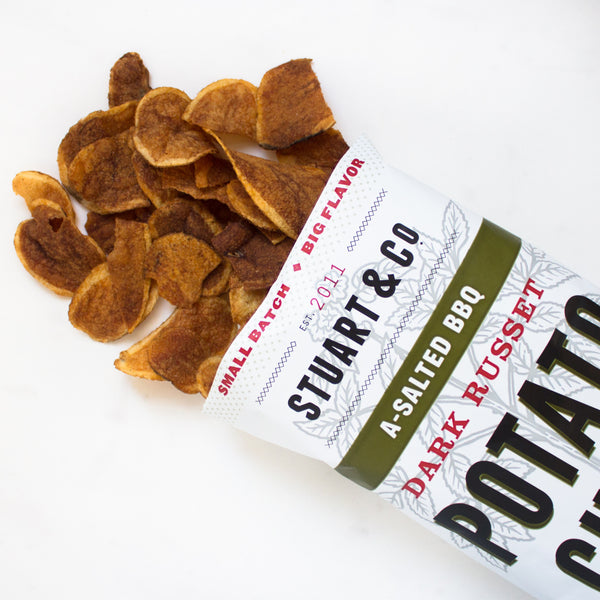A-Salted BBQ Potato Chips (Wholesale, 24-Pack)