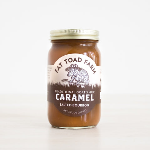 Salted Bourbon Farmstead Goat's Milk Caramel