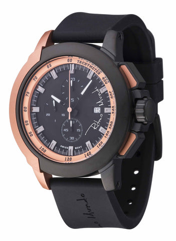 Ritmo Mundo Quantum 2 Rose Gold 50mm Stainless Steel-Aluminum Case Sports Men's Watch 1101/5 Rose Gold