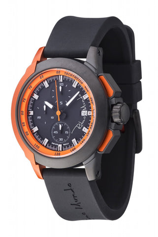 Ritmo Mundo Quantum 2 Orange 43mm Stainless Steel-Aluminum Case Sports Men's Watch 1151/3