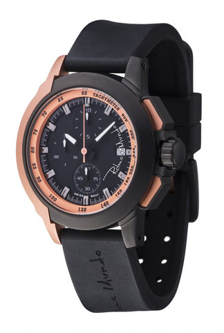 Ritmo Mundo Quantum 2 Rose Gold 43mm Stainless Steel-Aluminum Case Sports Men's Watch 1151/5 Rose Gold