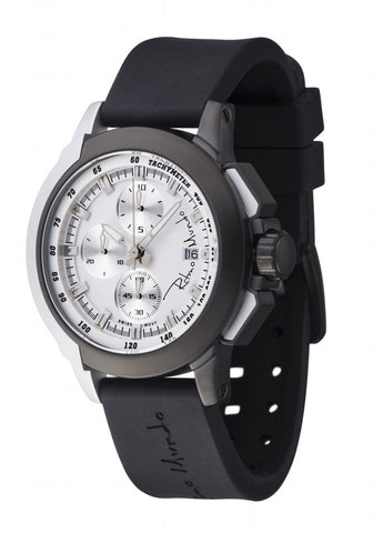 Ritmo Mundo Quantum 2 Black White 43mm Stainless Steel-Aluminum Case Sports Men's Watch 1151/8