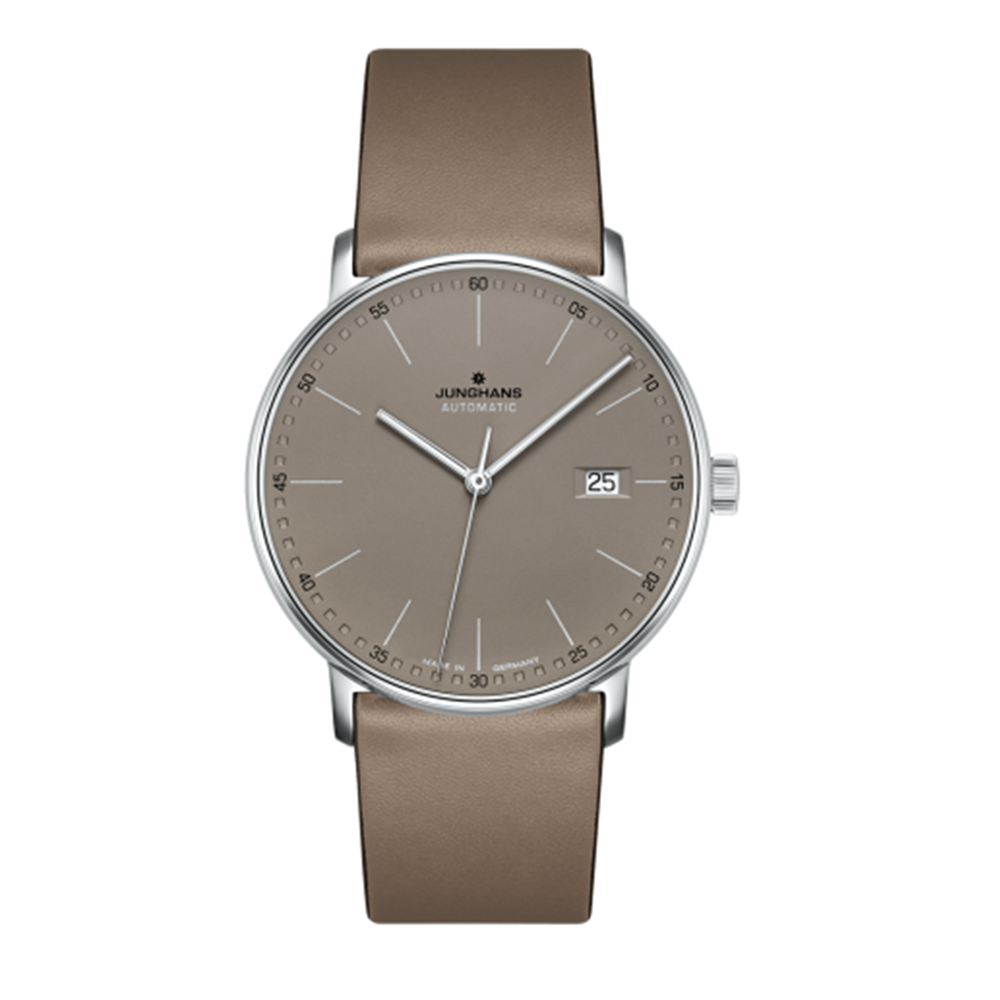 Junghans Form A Chronoscope 44mm Quartz Matte Taupe Dial Men's Watch 027/4832.00