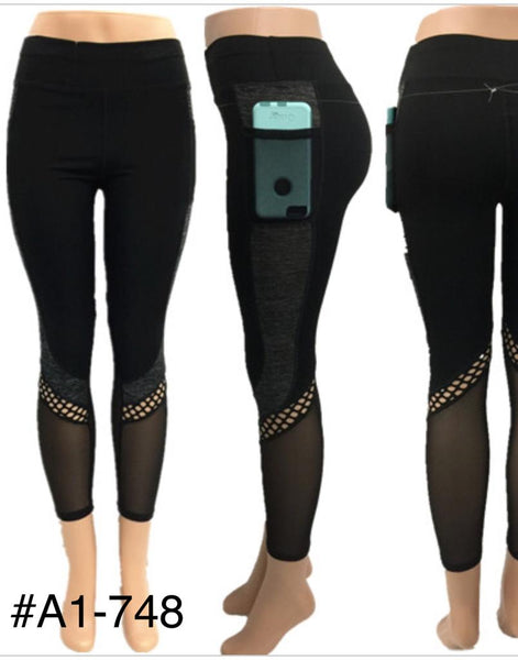 A1-748 LEGGING(12 PCS, MIXED SIZES)