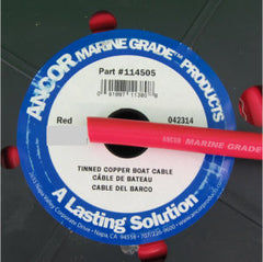 18 AWG - 10' Red Marine Wire