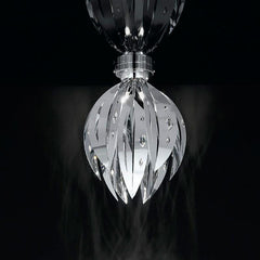 Crystal Palm Ceiling Light