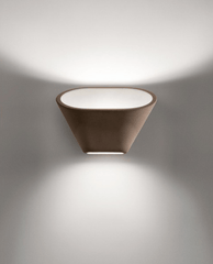 Foscarini Aplomb Wall Brown - London Lighting - 1