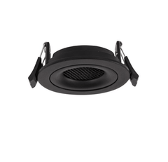 NL black recessed tilt-able downlight ID 9042
