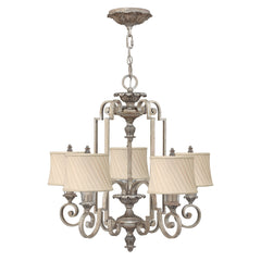 Hinkley Kingsley 5 Light Chandelier - London Lighting - 1
