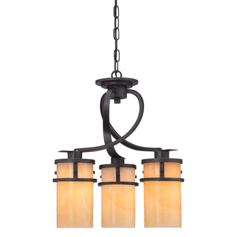 Quoizel Kyle 3 Light Dinette Chandelier - London Lighting - 1