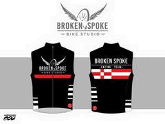 Broken Spoke Cycling Wind Vest