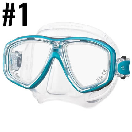 Top Ten Scuba Diving Products - TUSA Freedom Ceos Mask