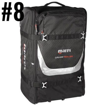 Top Ten Scuba Diving Products - Mares Backpack Roller Bag