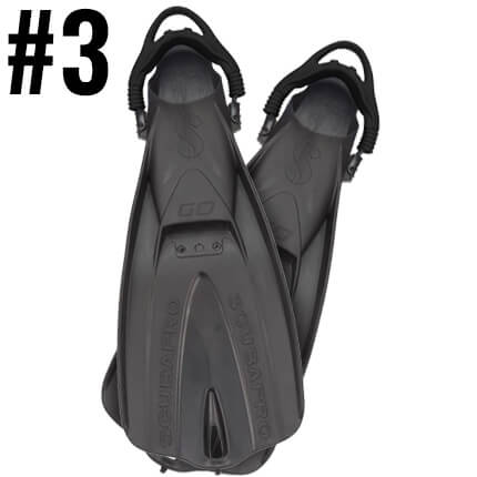 Top Ten Scuba Diving Products - Scubapro GO Travel Fins