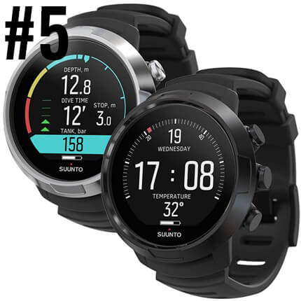 Top Ten Scuba Diving Products - Suunto D5 Dive Computer
