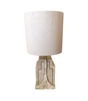 PAIR OF MAITLAND SMITH STONE TABLE LAMPS