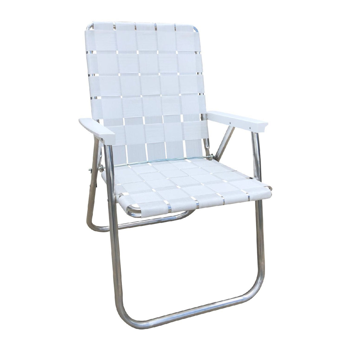 Lawn Chair | Deluxe White