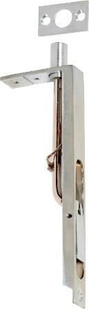 Tradco 'FLUSH BOLT' Satin Chrome  H150xW19mm 1439