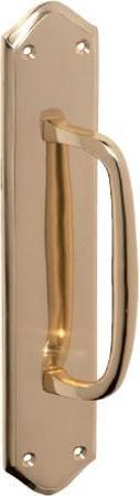 Tradco 'PULL HANDLE' Polished Brass 1468 250mm x 50mm