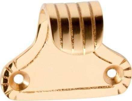 Tradco 'SASH LIFT FANCY REEDED' Polished Brass 1636 45mm x 37mm