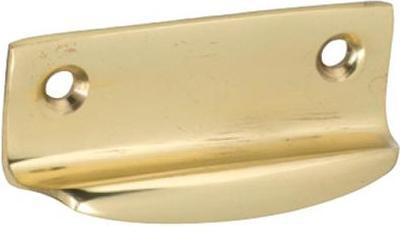 Tradco 'SASH LIFT' Polished Brass 1670 63mm x 26mm