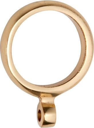 Tradco 'CURTAIN RING' Polished Brass 25mm (Internal) 4630