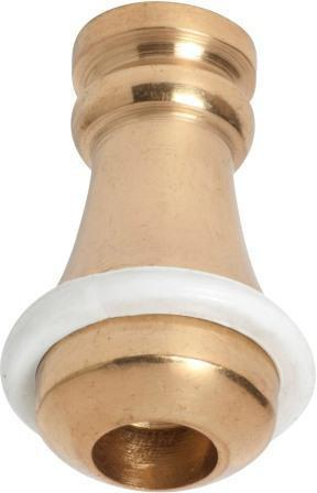 Tradco 'CORD WEIGHT-SMALL' Polished Brass 32mm 4650