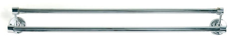 Tradco 'DOUBLE TOWEL RAILS' Chrome Plate 900mm 4861