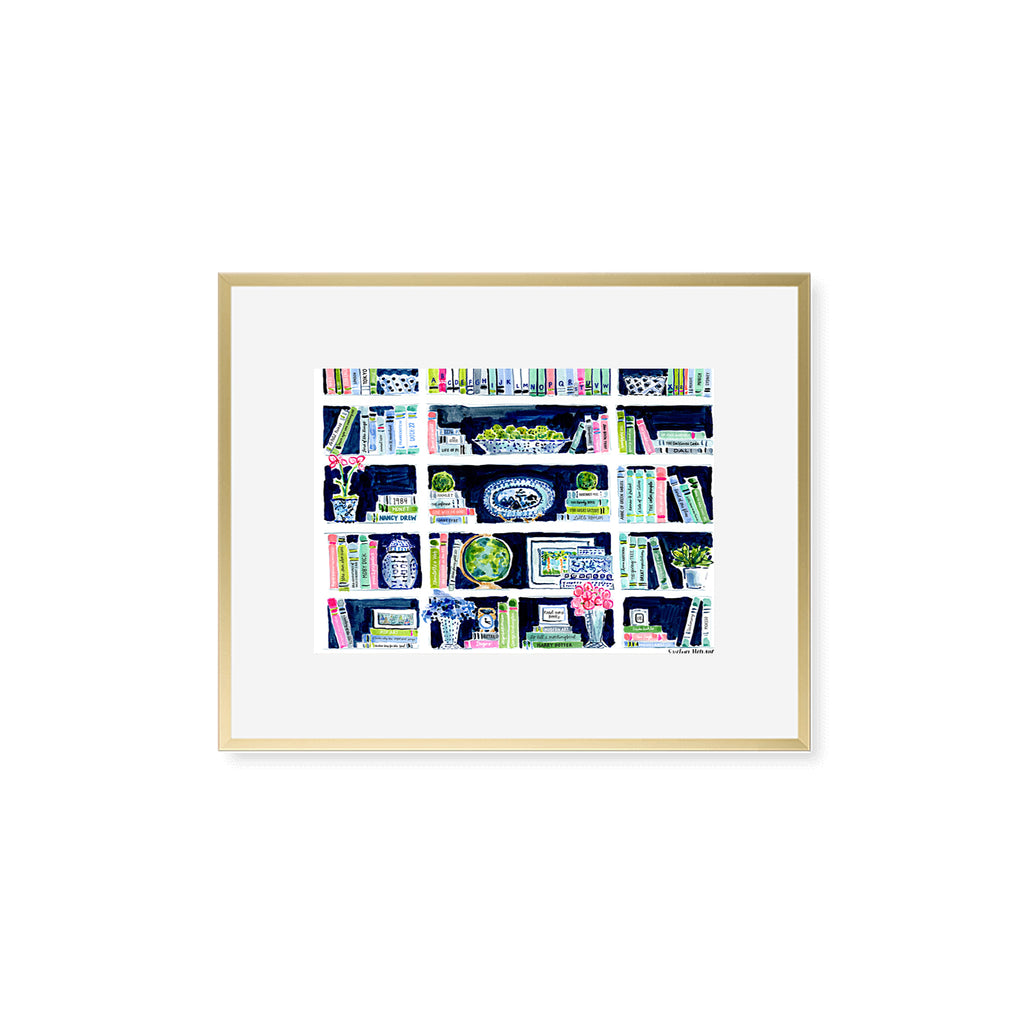 "The ""Believe in Your(shelf)"" Fine Art Print"