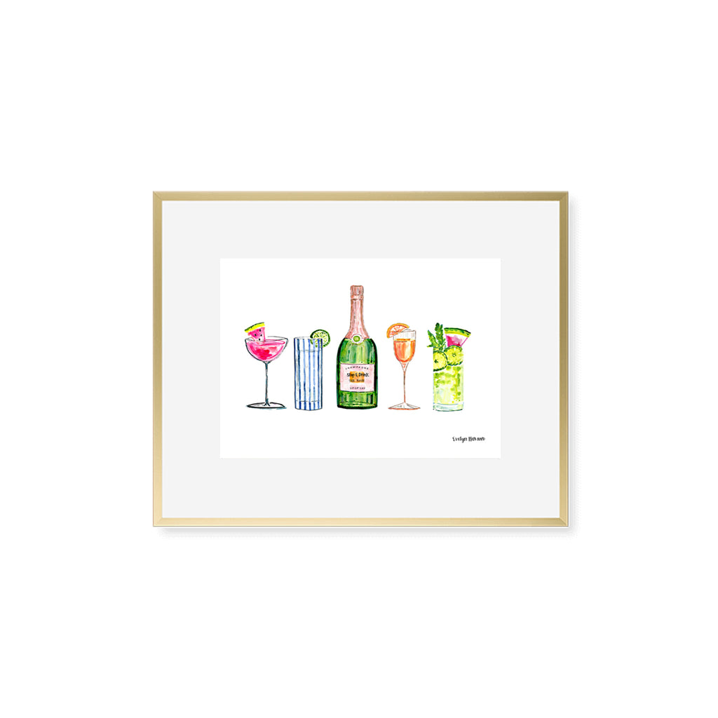 "The ""Happy Hour"" Fine Art Print"