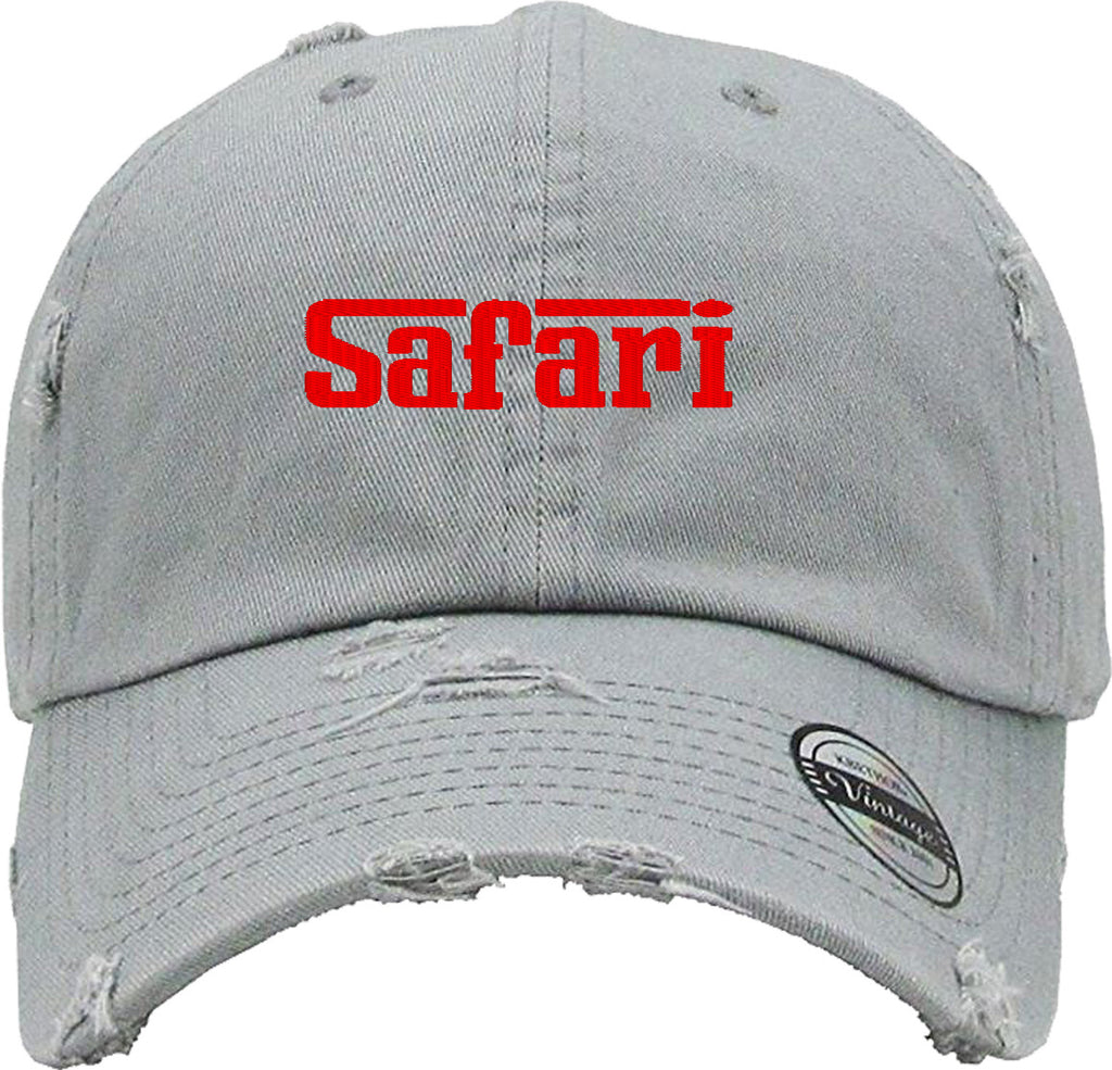 SAFARI Distressed Baseball Hat