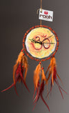 Dream Catcher Om Painting  Dream Catcher Clock