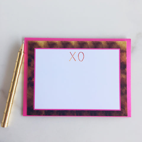 Bamboo You XO Note Cards