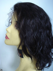 "Pretty Loxx WAVY Indian Remy Lace Front Wig 10"" - PrettyLoxx"