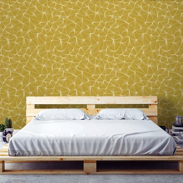 Gold Wallpapers Peel and Stick Removable