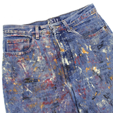 PAINTED BLUE JEANS