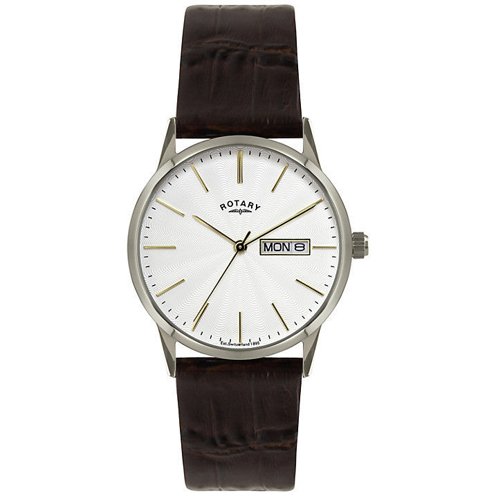 ROTARY GENTS LEATHER STRAP WATCH GS02750/04 - Robert Openshaw Fine Jewellery