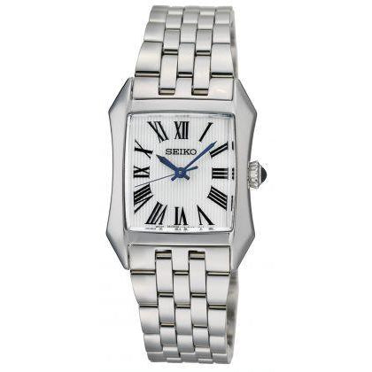 SEIKO LADIES STAINLESS STEEL 50M BRACELET WATCH SXGP21P1