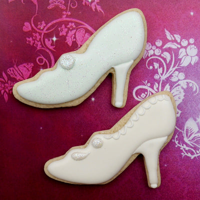 High Heel Shoe Cookie Cutter - Stainless Steel