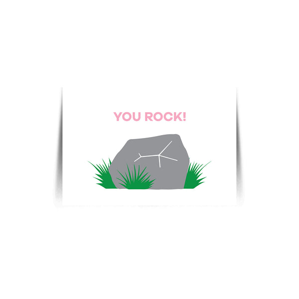 Quote Card You Rock