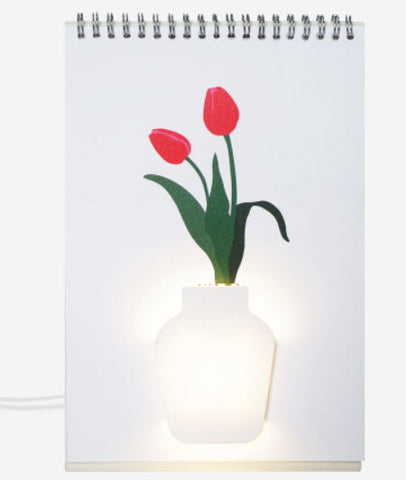 Flower Lamp Page by Page