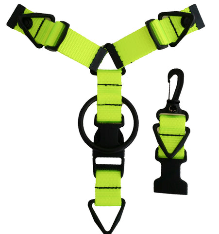 Accessory Hanger - Neon Green - Snap-Hookz Golf
