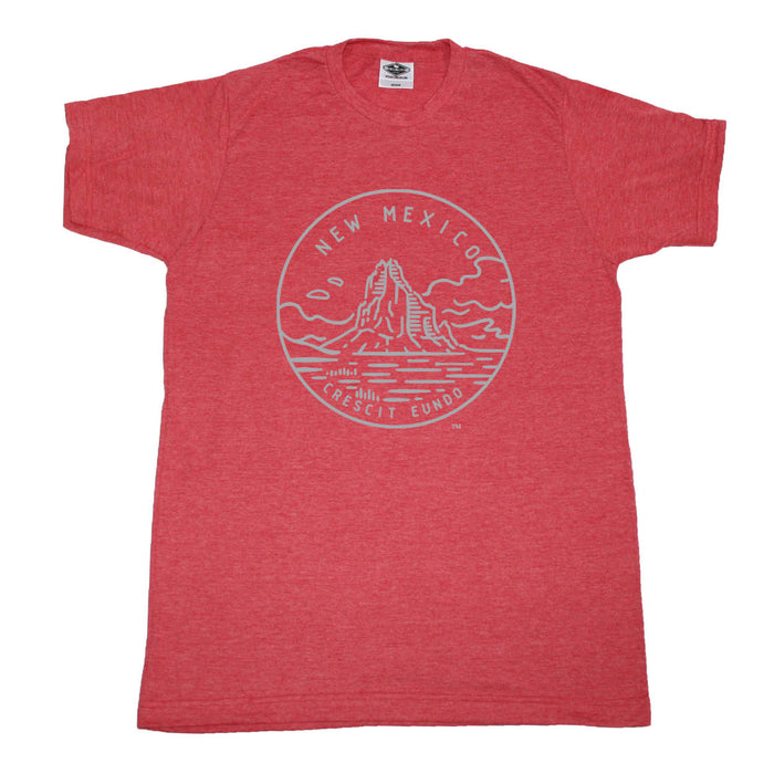 NEW MEXICO RED TEE | STATE SEAL | CRESCIT EUNDO