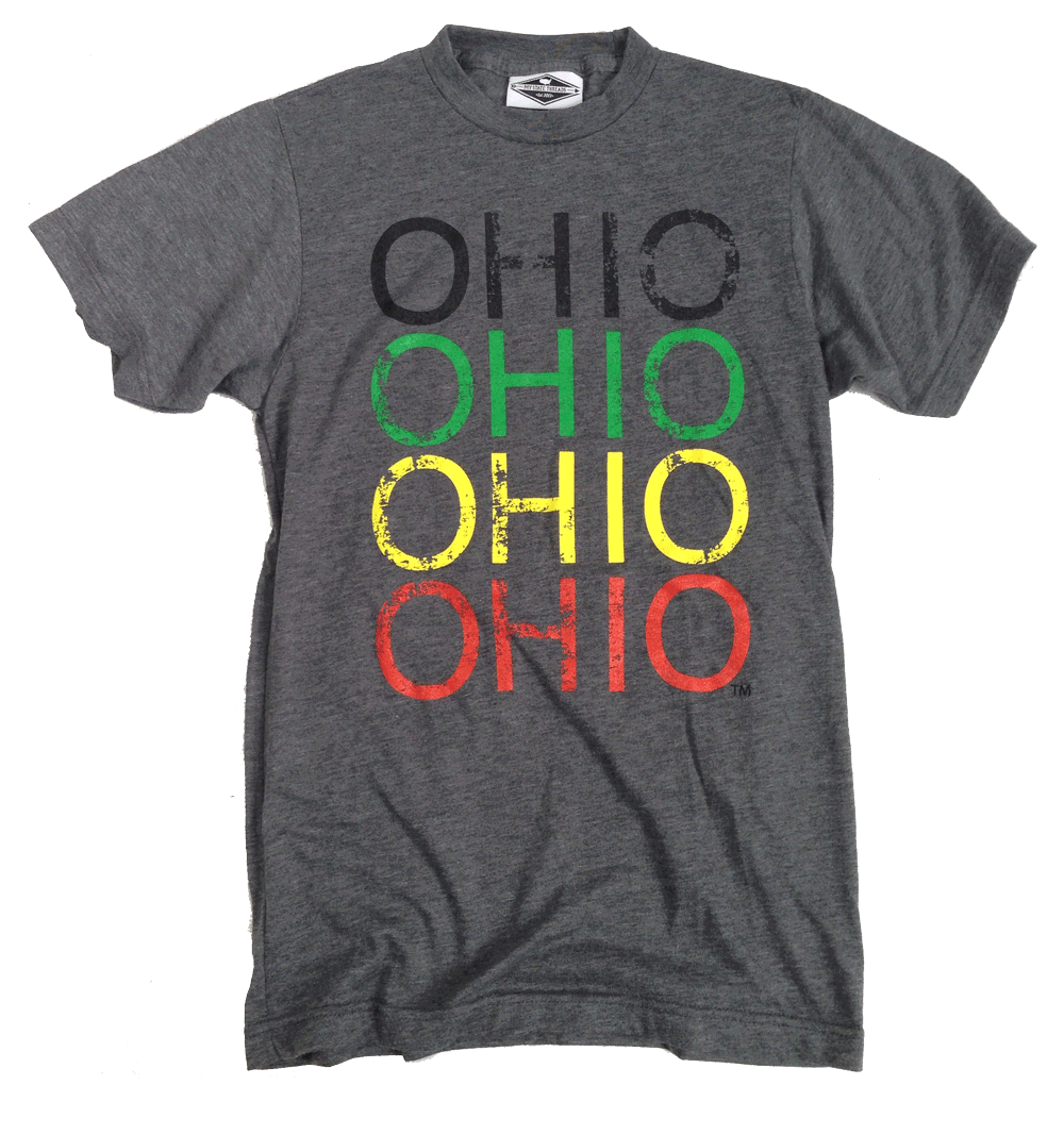 OHIO TEE | REPEAT | RASTA